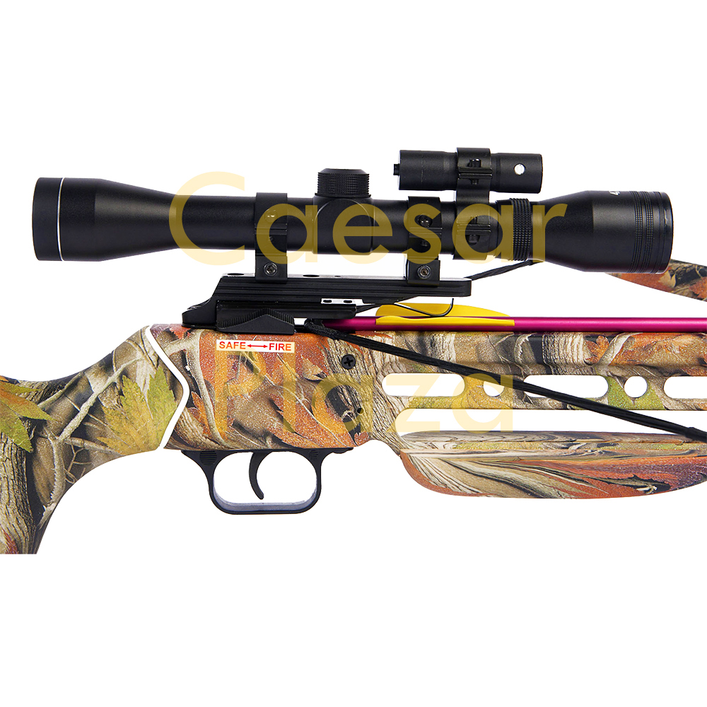 150-lb-Black-Wood-Camo-Hunting-Crossbow-Bow-4x20-Scope-7-Arrows-180-80-50 thumbnail 10