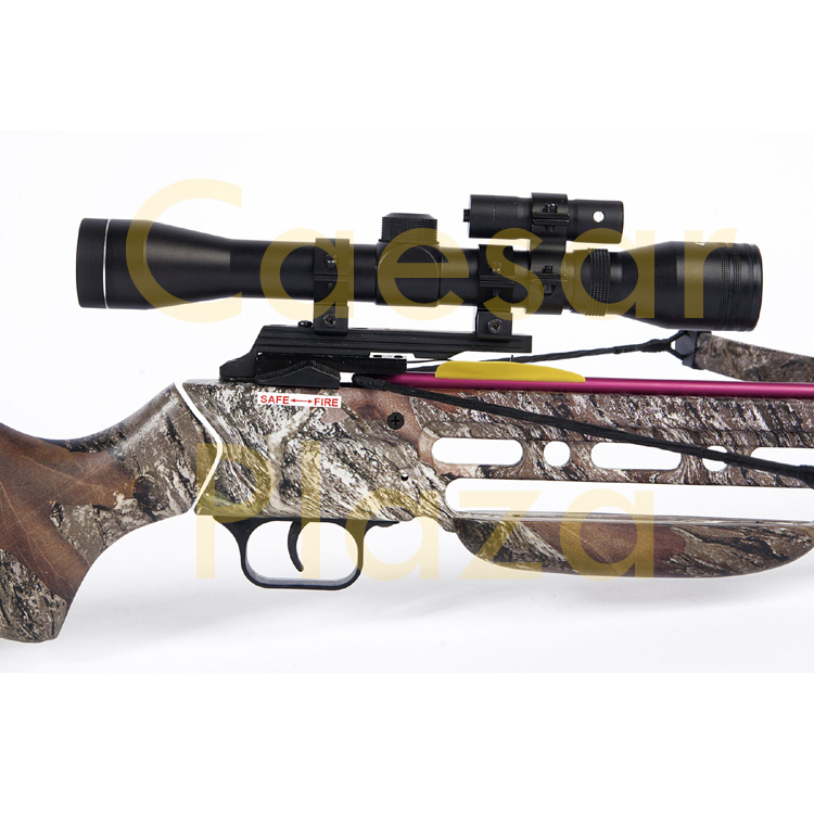 150-lb-Black-Wood-Camo-Hunting-Crossbow-Bow-4x20-Scope-7-Arrows-180-80-50 thumbnail 38