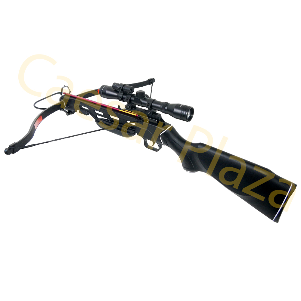 150-lb-Black-Wood-Camo-Hunting-Crossbow-Bow-4x20-Scope-7-Arrows-180-80-50 thumbnail 23