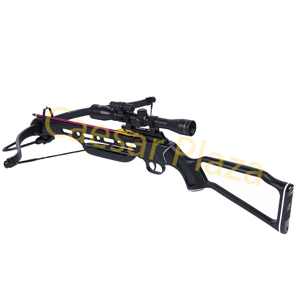 150-lb-Black-Wood-Camo-Hunting-Crossbow-Bow-4x20-Scope-7-Arrows-180-80-50 thumbnail 30