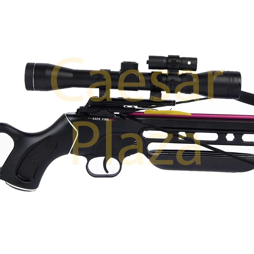150-lb-Black-Wood-Camo-Hunting-Crossbow-Bow-4x20-Scope-7-Arrows-180-80-50 thumbnail 31