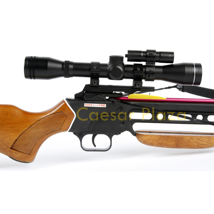 150-lb-Black-Wood-Camo-Hunting-Crossbow-Bow-4x20-Scope-7-Arrows-180-80-50 thumbnail 45