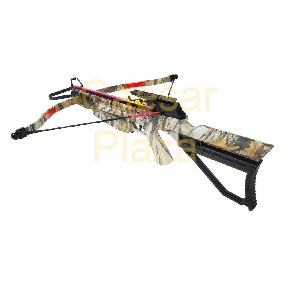 175-lb-Black-Camouflage-Hunting-Crossbow-Bow-7-Arrows-Stringer-Wax-150 thumbnail 12