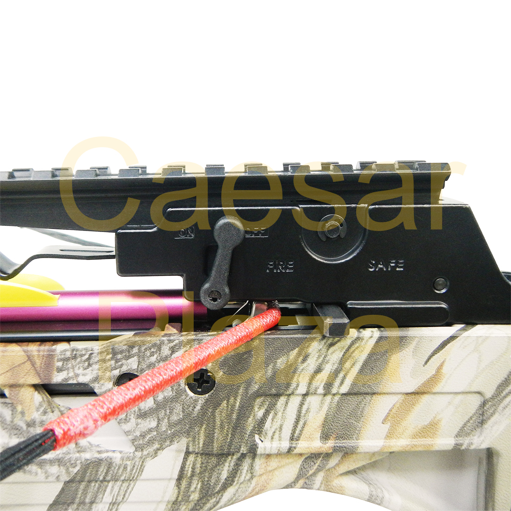 175-lb-Black-Camouflage-Hunting-Crossbow-Bow-7-Arrows-Stringer-Wax-150 thumbnail 13