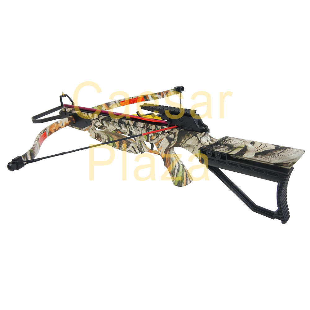 175-lb-Black-Camouflage-Hunting-Crossbow-Bow-7-Arrows-Stringer-Wax-150 thumbnail 18