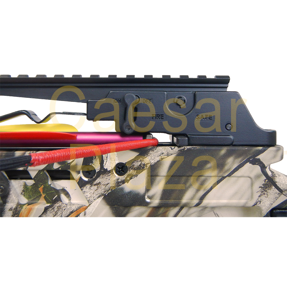 175-lb-Black-Camouflage-Hunting-Crossbow-Bow-7-Arrows-Stringer-Wax-150 thumbnail 19