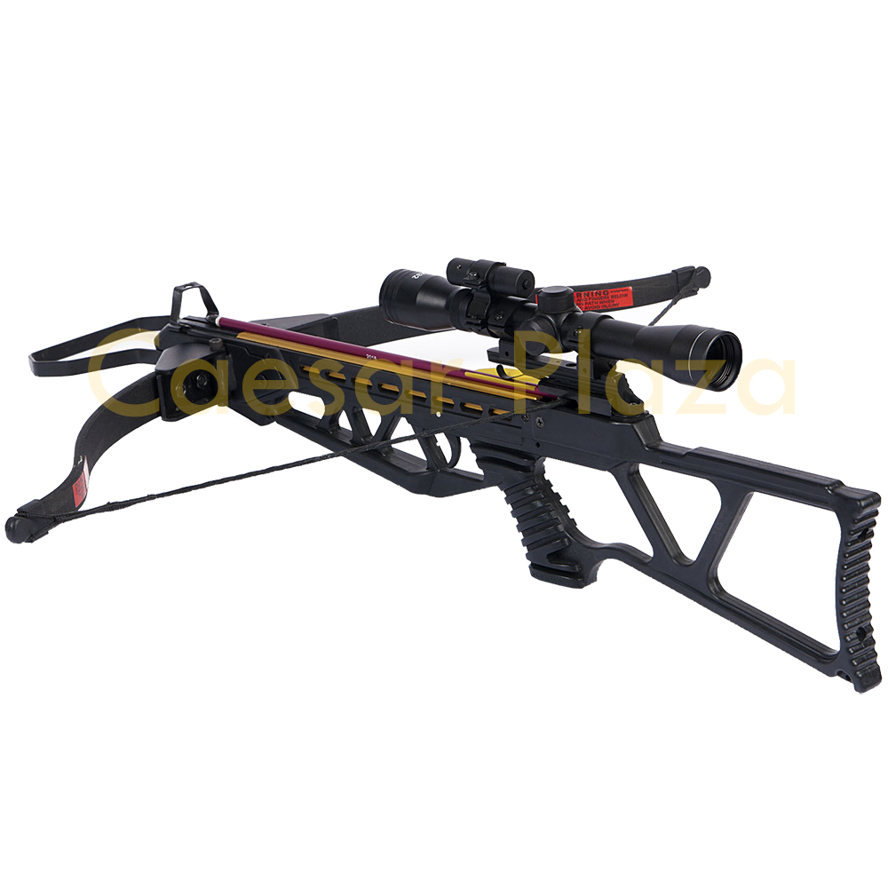 180-lb-Black-Camouflage-Camo-Hunting-Crossbow-Bow-4x20-Scope-7-Arrows-150-80 thumbnail 13