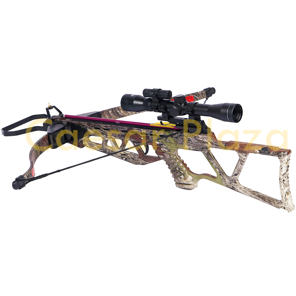 180-lb-Black-Camouflage-Camo-Hunting-Crossbow-Bow-4x20-Scope-7-Arrows-150-80 thumbnail 20