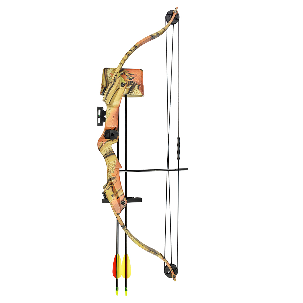 17-21-lb-Black-Camouflage-Camo-Archery-Hunting-Compound-Bow-Crossbow-20-25 thumbnail 5