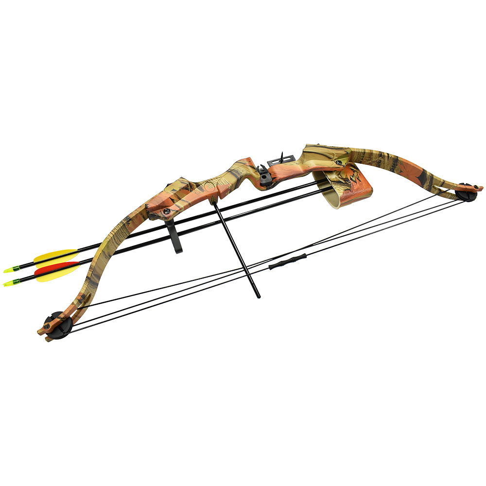 17-21-lb-Black-Camouflage-Camo-Archery-Hunting-Compound-Bow-Crossbow-20-25 thumbnail 6