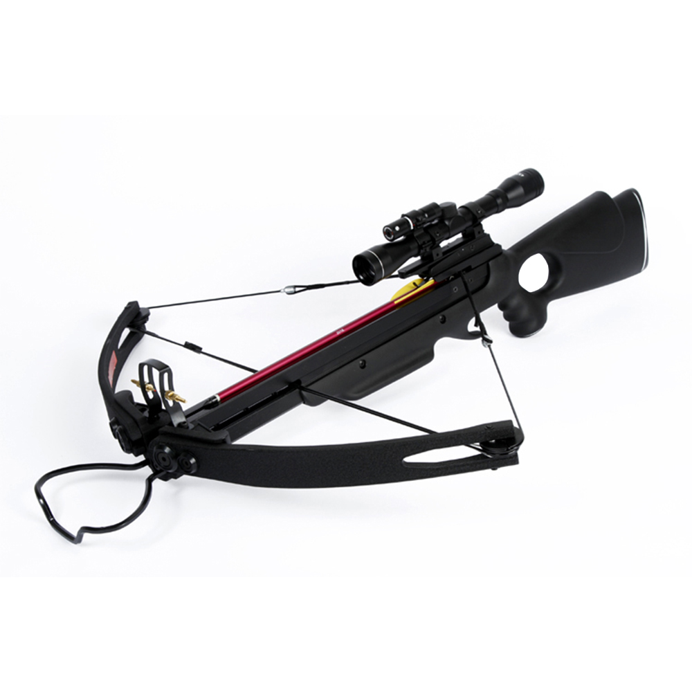 150 Lb Lbs Black Compound Hunting Crossbow Archery Bow 2