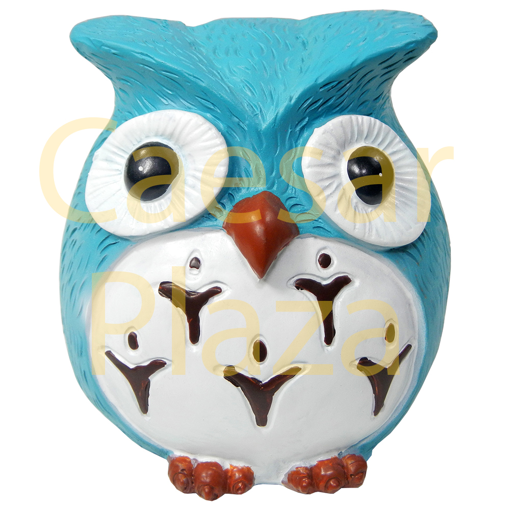 Exceptional Solar Outdoor Owl Light Garden Decoration LED Post