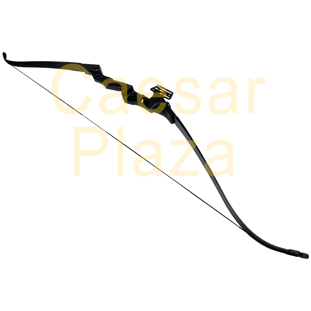40-lb-Black-White-Camouflage-Camo-Archery-Hunting-Recurve-Bow-Compound-55-30 thumbnail 7