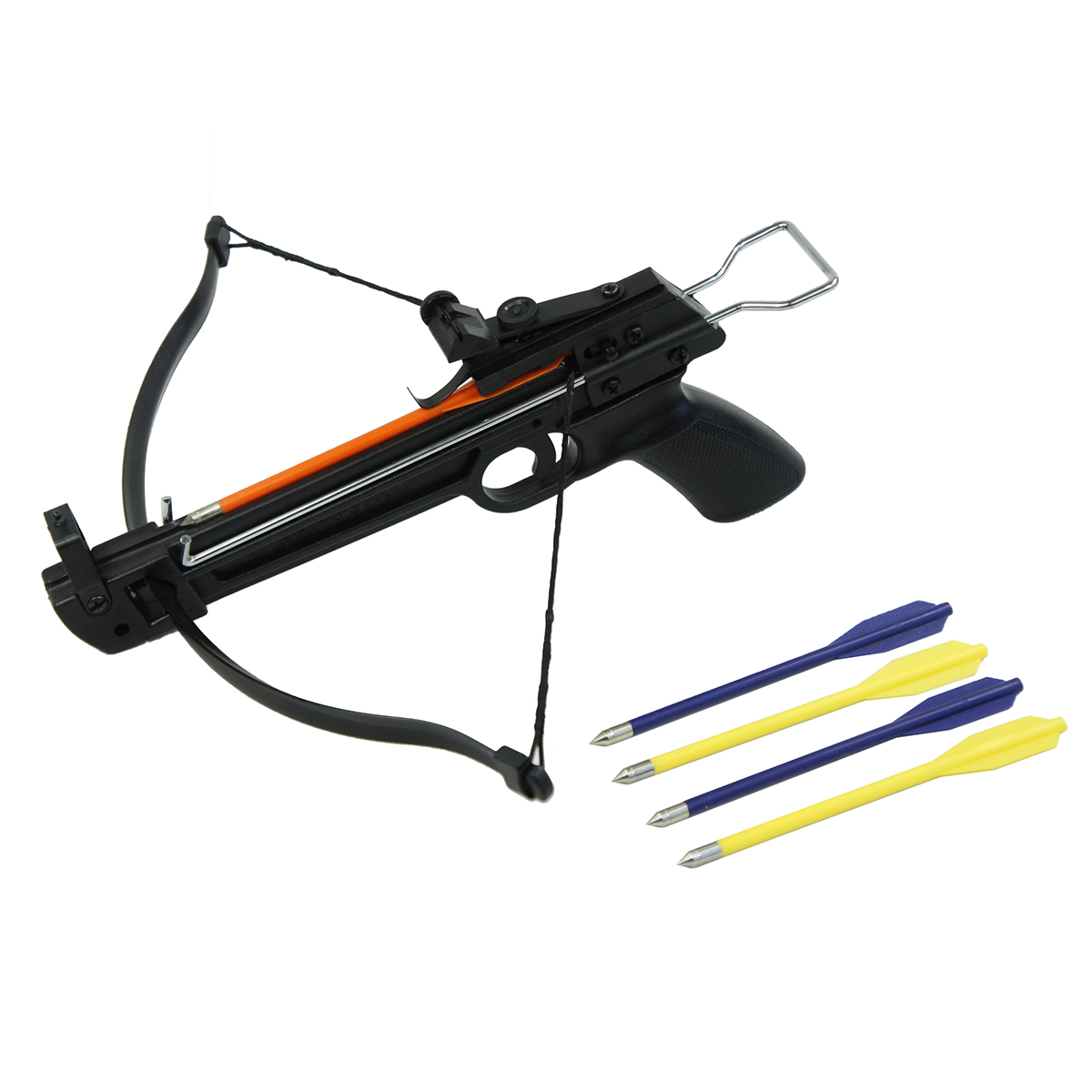 50 Lb Pistol Hunting Archery Crossbow Bow 5 Bolts