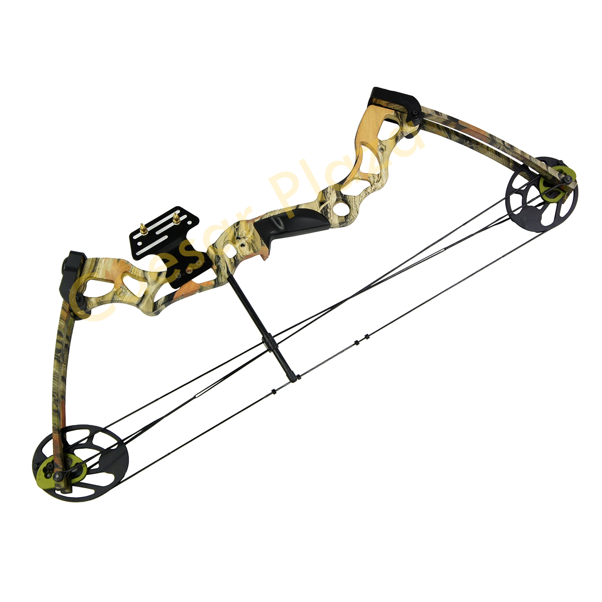 40-70-lb-Black-Green-Tree-Camouflage-Camo-Archery-Hunting-Compound-Bow-75-55 thumbnail 8