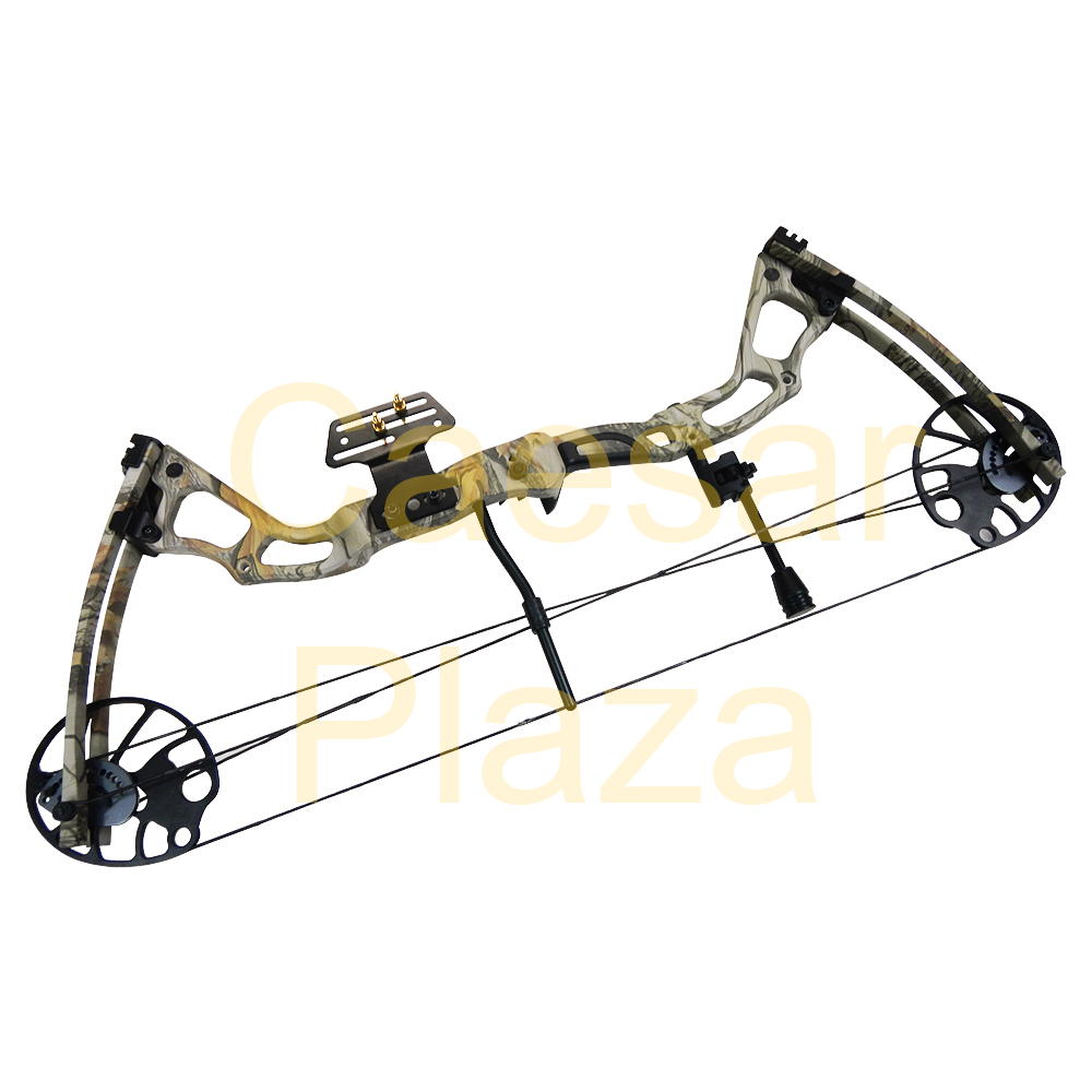 15-70-lb-Black-Tree-Camouflage-Camo-Archery-Hunting-Compound-Bow-75-55-30-lbs thumbnail 11