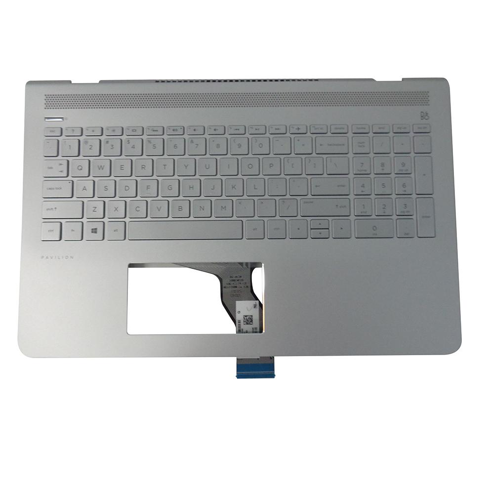 Details About Genuine Hp Pavilion 15 Cc 15 Cd Palmrest W Backlit Keyboard 928438 001