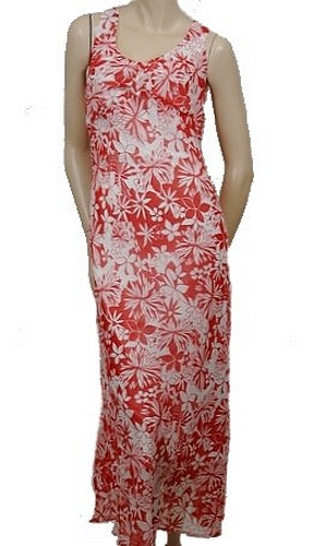 New Touche Sleeveless Womens Long Dresses Red Size 14