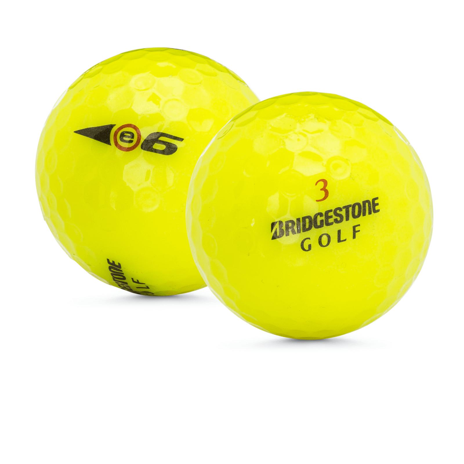 Bridgestone Near Me >> 48 Bridgestone E6 Yellow Used Golf Balls Near Perfect Mint Aaaa