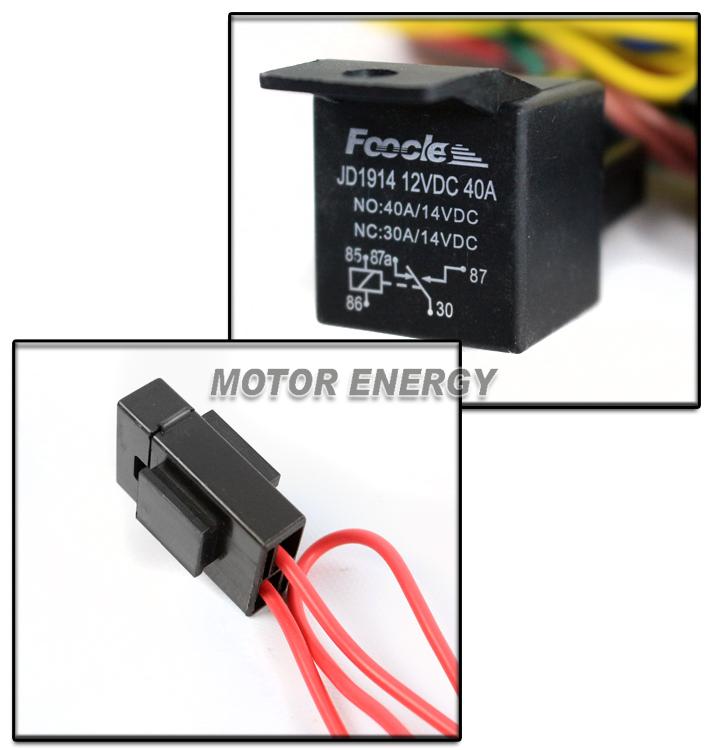9006 Fog Lights Lamps Wiring Harness Kit For 06  Vw Golf