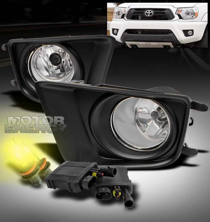 12 15 Toyota Tacoma Pickup Bumper Fog Lights Lamp 3000k