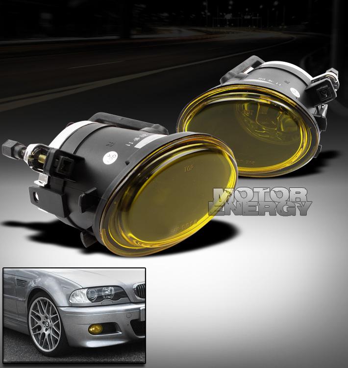 00 01 02 03 04 05 06 BMW E46 M3//E39 M5//330CI 330I BUMPER SMOKE FOG LIGHTS+BULB