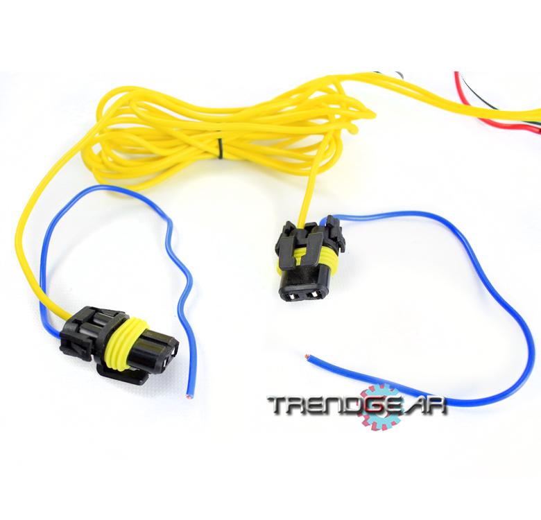 9006 Fog Light Lamp Wiring Harness Kit For 2006