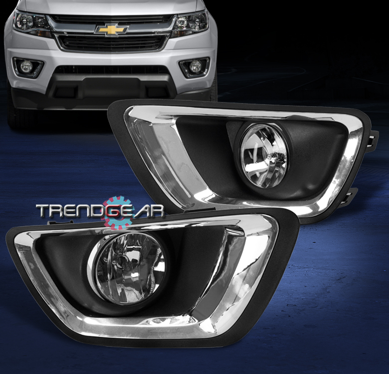 2015 2017 Chevy Colorado Truck Front Bumper Driving Fog