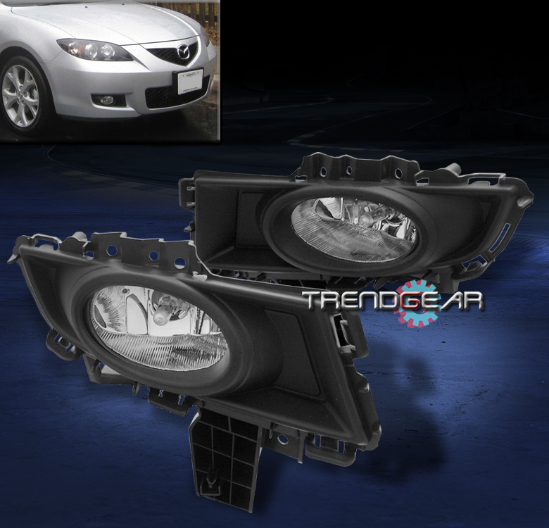 2007 2008 2009 Mazda 3 Mazda3 Sedan 4dr Bumper Fog Light