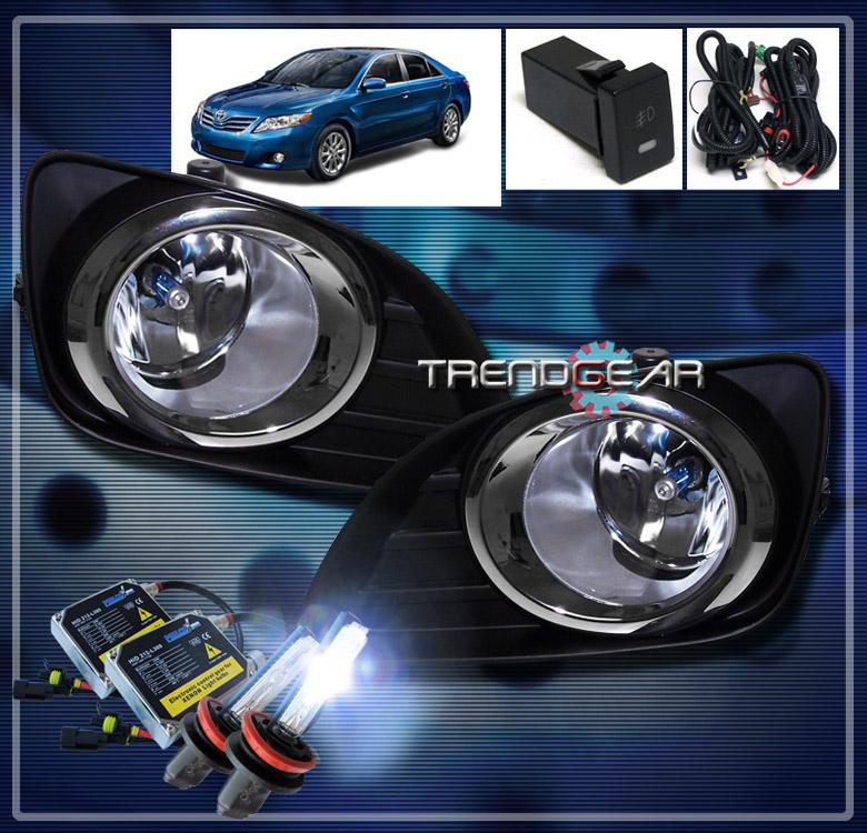 2010 2011 toyota camry base le xle jdm bumper fog lights. Black Bedroom Furniture Sets. Home Design Ideas