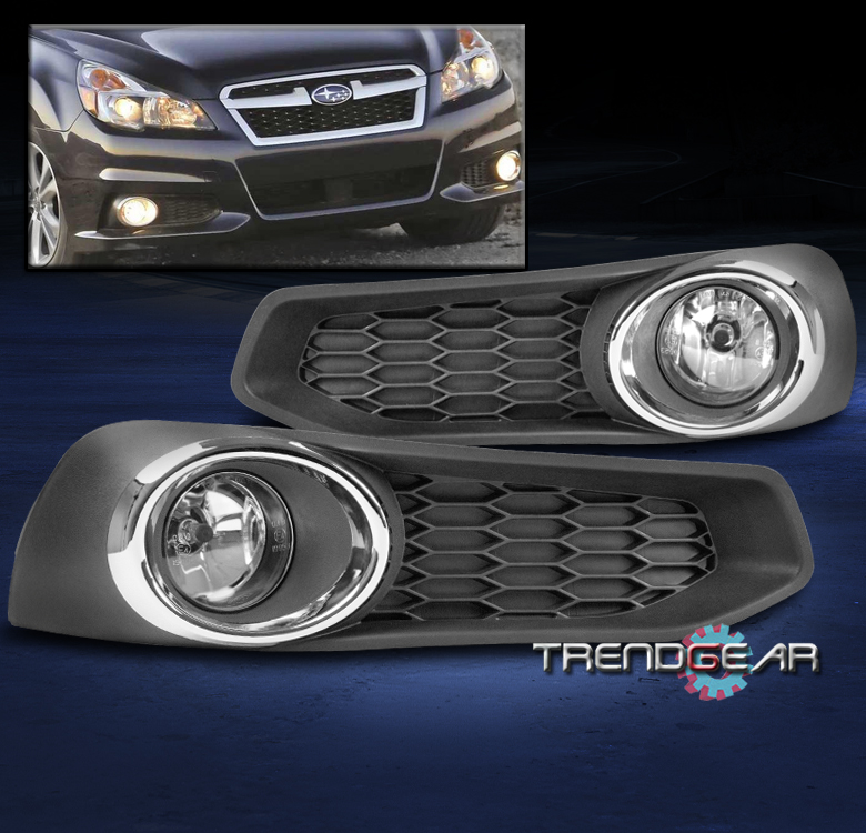 for 2013 2014 subaru legacy bumper driving fog lights lamp