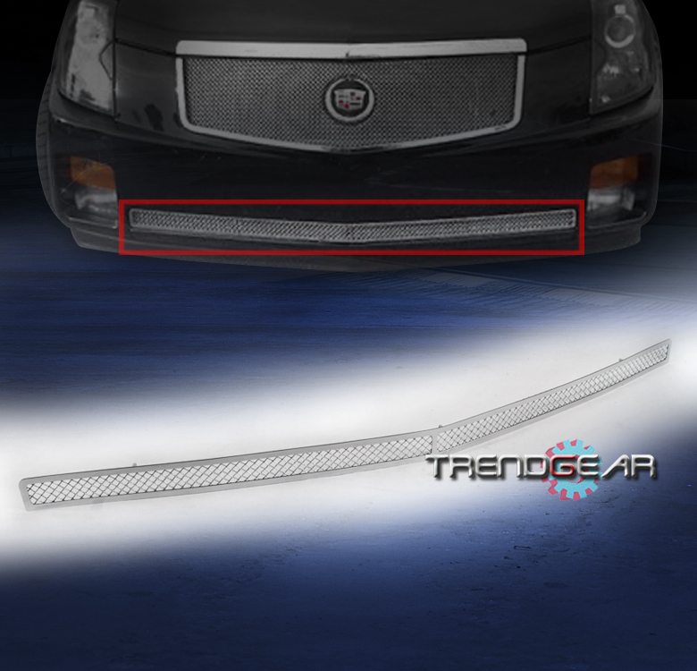 2003-2007 CADILLAC CTS FRONT BUMPER LOWER STAINLESS STEEL