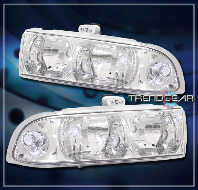 1998 2004 chevy s10 blazer crystal headlight lamp clear. Black Bedroom Furniture Sets. Home Design Ideas