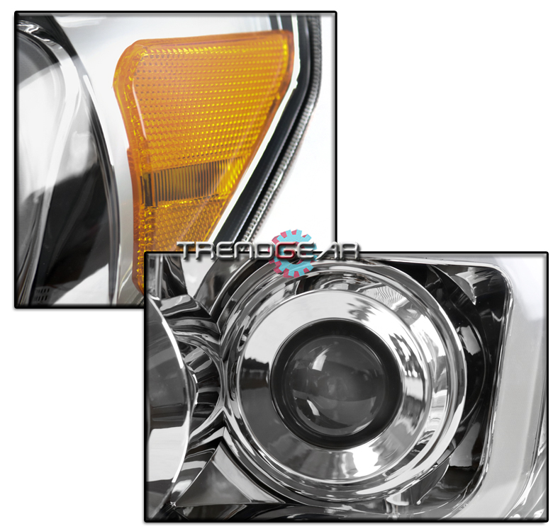 For 2007 2008  Sequoia Led Chrome Projector