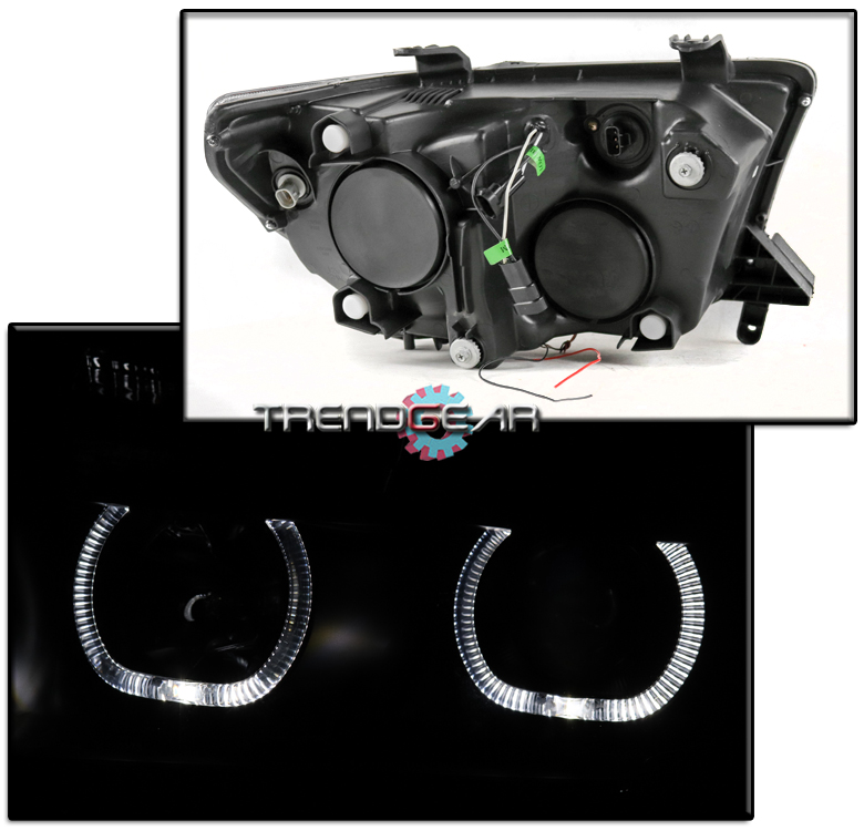 For 2007 2008  Sequoia Halo Black Projector