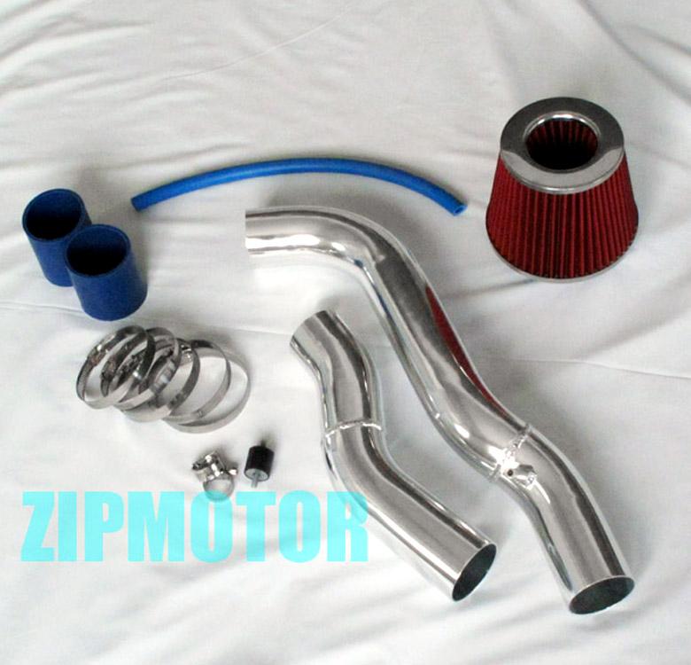 Blue Cold Air Intake Filter Kits Fits Honda 88-91 Civic EX RT CRX Si 1.6L L4