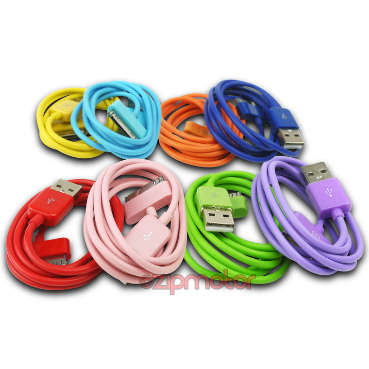 20X 3FT USB SYNC DATA POWER CHARGER CABLE IPHONE 4S IPOD TOUCH CLASSIC NANO IPAD