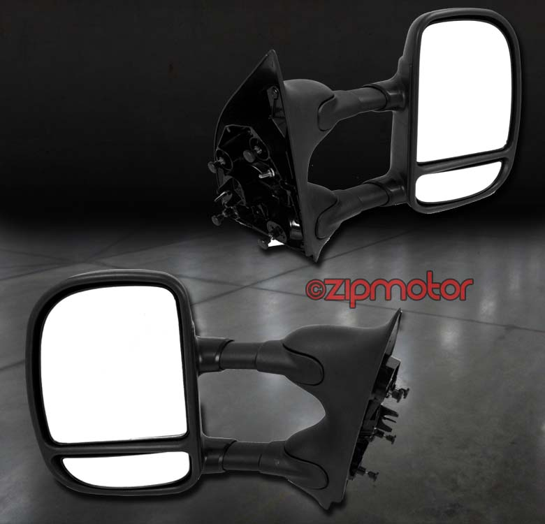 99-07 FORD F250 F350 SUPER DUTY//00-05 EXCURSION TOWING EXTEND MANUAL LED MIRRORS