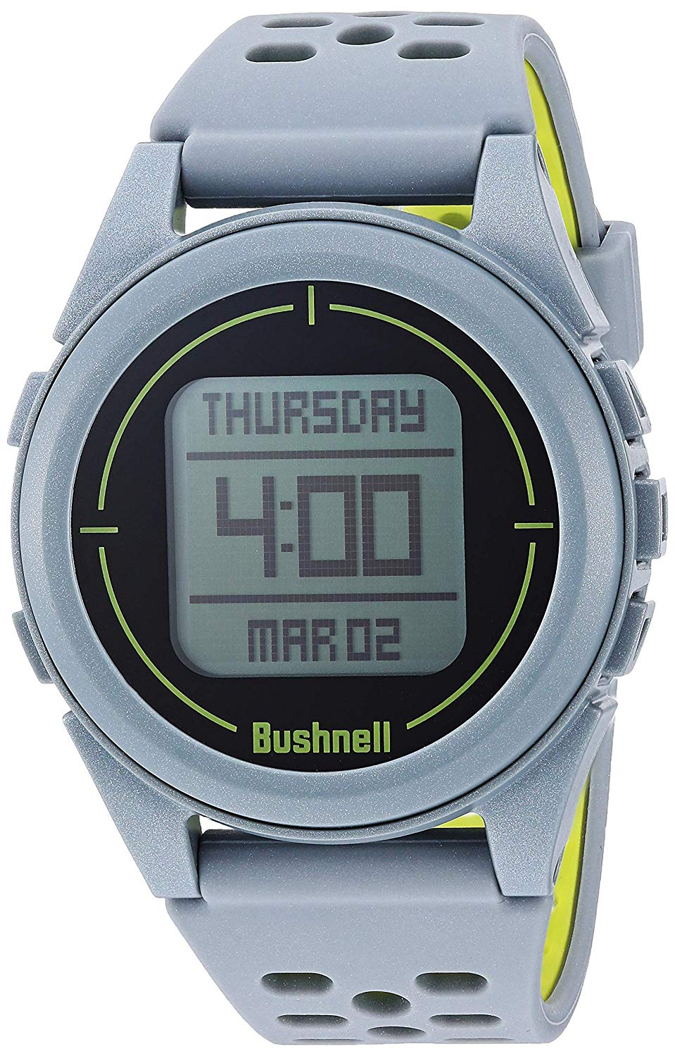 Bushnell Ion 2 Golf GPS Watch Silver/Green Color
