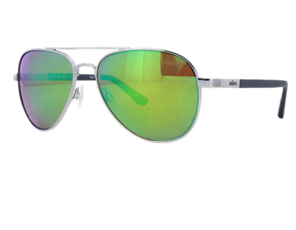f299d2caf0 REVO Windspeed Re 3087 Polarized Aviator Sunglasses Chrome green Water 66  Mm. About this product. Picture 1 of 2  Picture 2 of 2