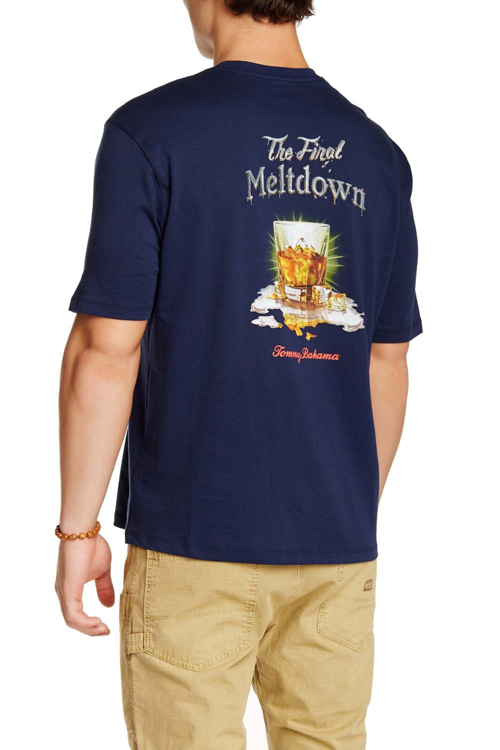 Tommy Bahama The Final Meltdown Small Navy T Shirt Ebay
