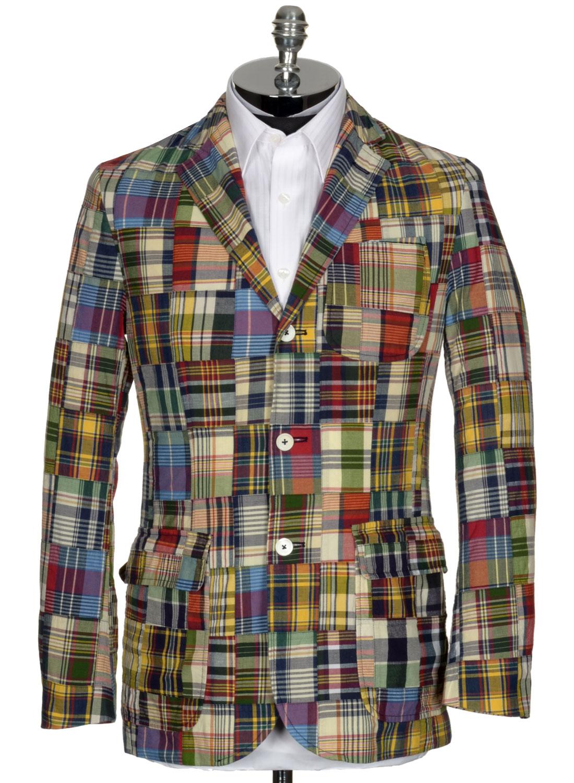 229 Polo Ralph Lauren Madras Sport Coat 2xl Xxl Jacket