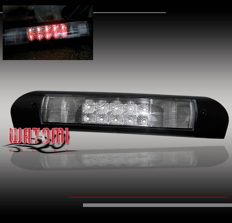 Details About 02 09 Dodge Ram Pickup Led Third 3rd Brake Light Lamp Chrome 03 04 05 06 07 08
