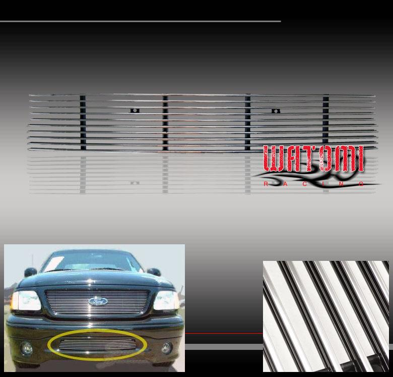 01 03 ford f 150 f150 harley davidson pickup bumper lower grille 2001 2003 ford f 150 harley davidson edition front bumper billet grille fandeluxe Images