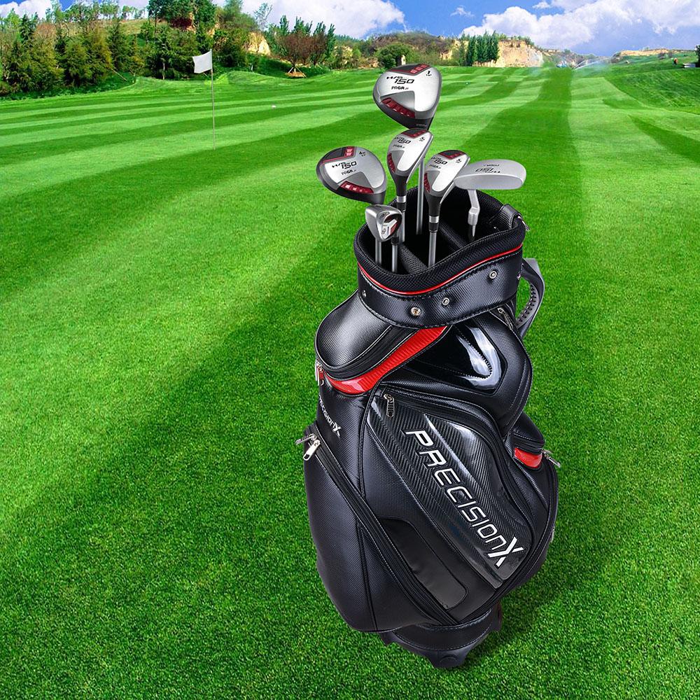 13 Clubs Golf Cart Stand Carry Bag 5 Way Divider Top