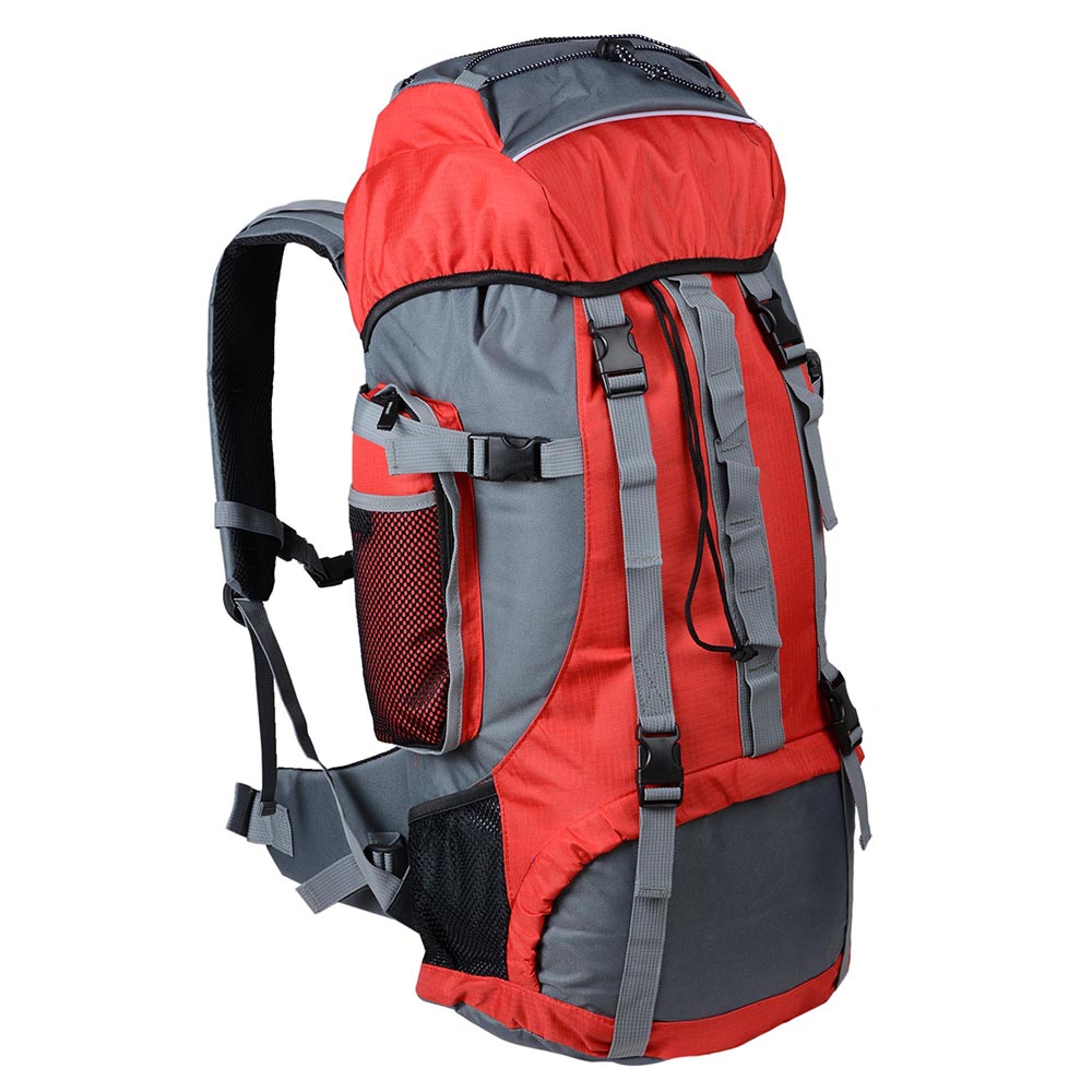 Camping Hiking Backpacking: 70L Outdoor Camping Travel Hiking Bag Backpack DayPack