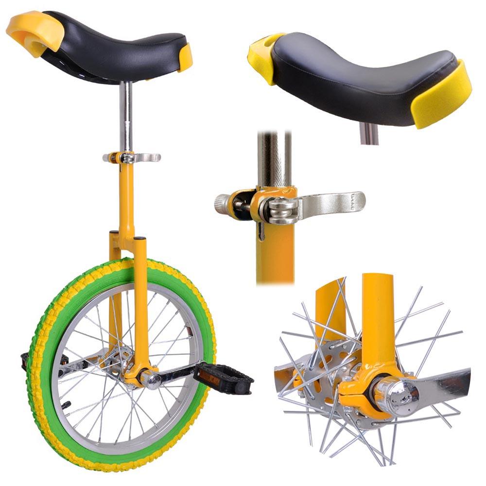 16-18-20-24-034-Unicycle-Wheel-Balance-Uni-Cycle-Fun-Bike-Fitness-Circus-Cycling thumbnail 6