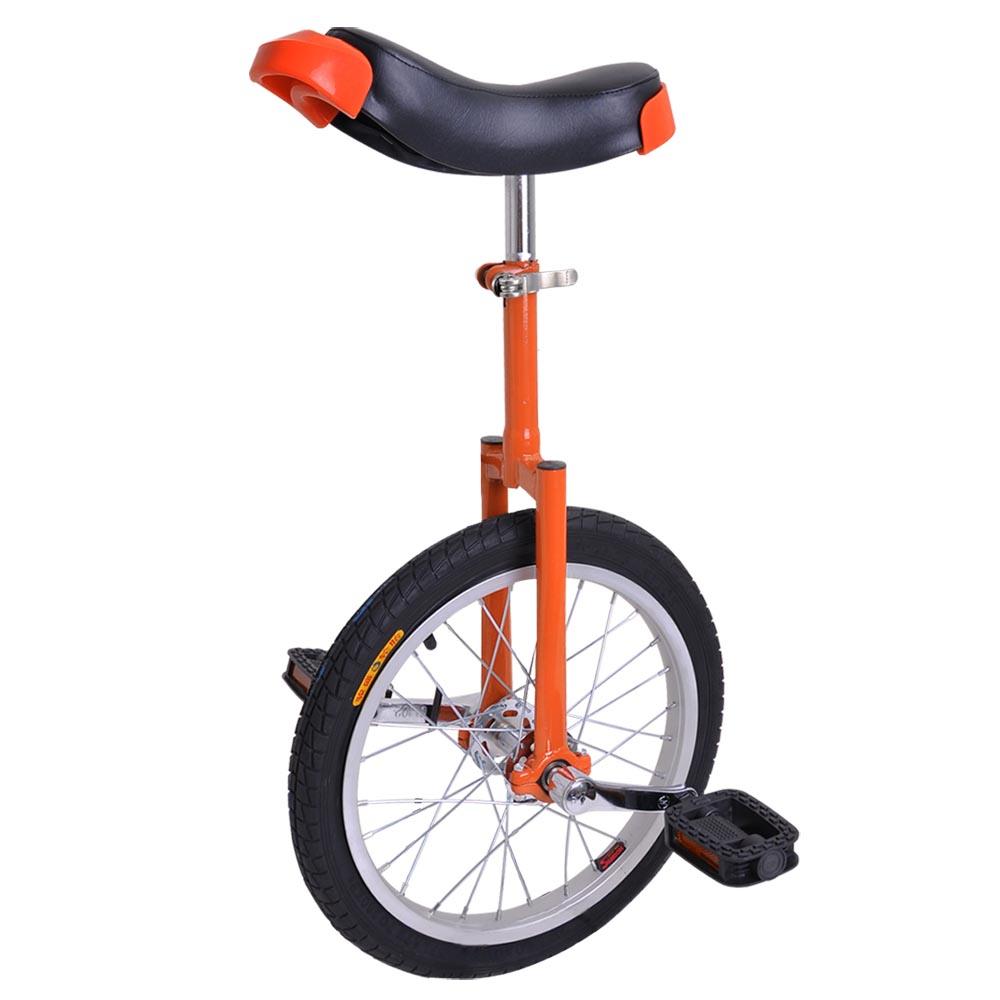 16-18-20-24-034-Unicycle-Wheel-Balance-Uni-Cycle-Fun-Bike-Fitness-Circus-Cycling thumbnail 7
