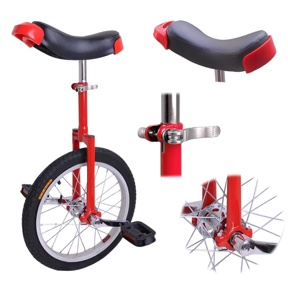 16-18-20-24-034-Unicycle-Wheel-Balance-Uni-Cycle-Fun-Bike-Fitness-Circus-Cycling thumbnail 11