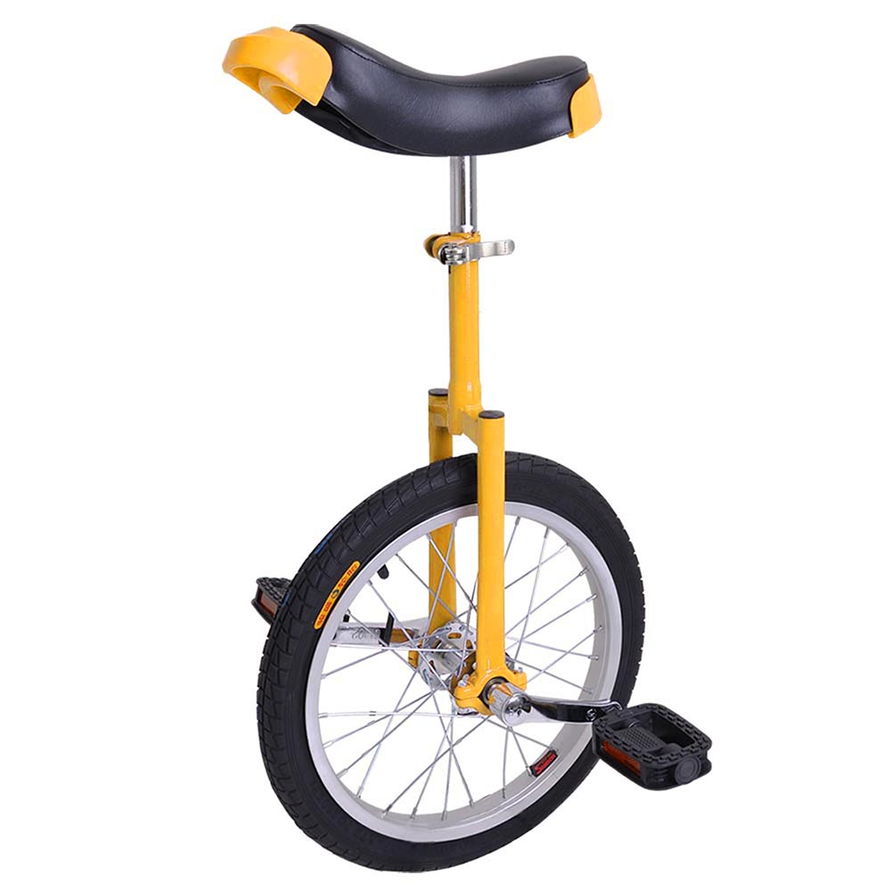 16-18-20-24-034-Unicycle-Wheel-Balance-Uni-Cycle-Fun-Bike-Fitness-Circus-Cycling thumbnail 16